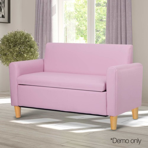 Child\'s Faux Leather 2 Seater Sofa | Temple & Webster
