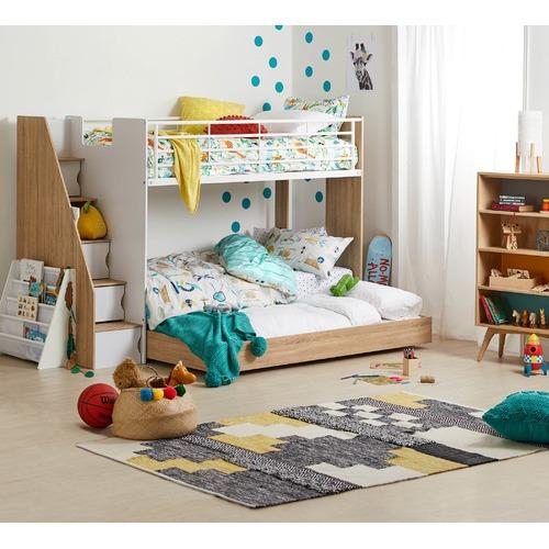 i.Life Kids Bookshelf Magazine Storage Unit