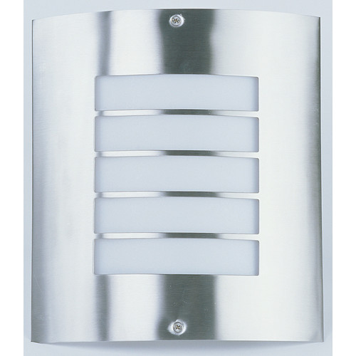 Zander Lighting Silver Castellana Stainless Steel Wall Light