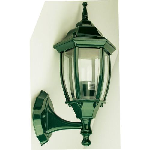 Oriel Lighting Highgate Up Exterior Wall Light in Green