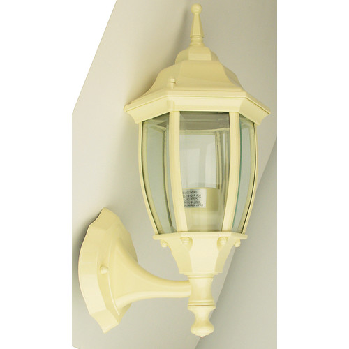 Oriel Lighting Highgate Up Exterior Wall Light in Primrose