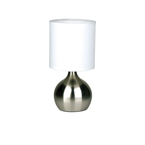 Zander Lighting Brushed Chrome Venice Table Lamp