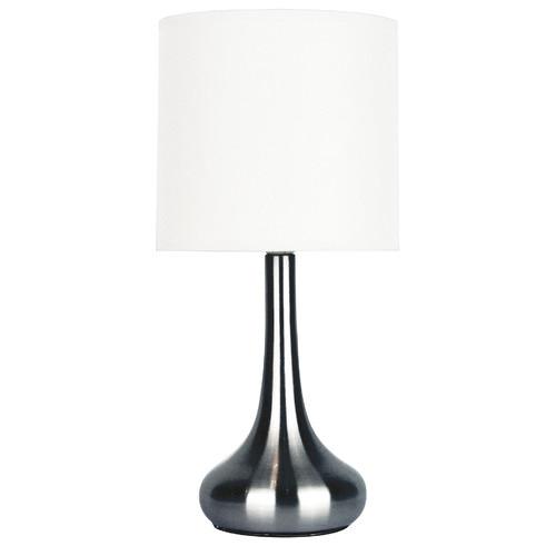 Zander Lighting Brushed Chrome Peschiera Table Lamp