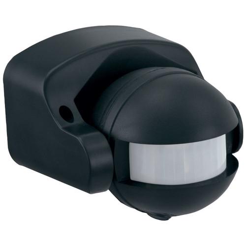 Zander Lighting Lightwatch Sensor Wall Under Eave Bracket in Black
