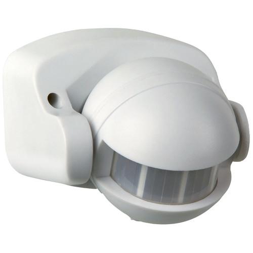 Zander Lighting White Feltre Floodlight with Motion Sensor