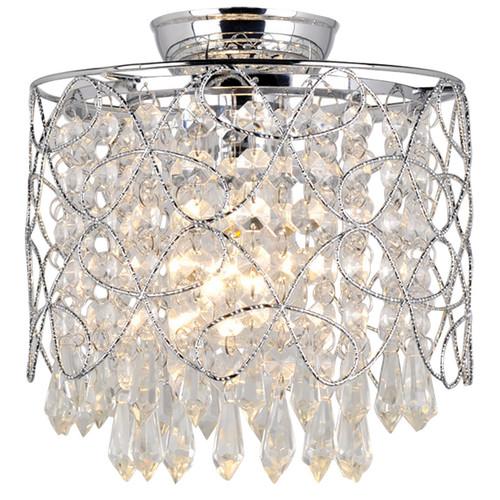 Zander Lighting Valentia Crystal Batten Fix Ceiling Light