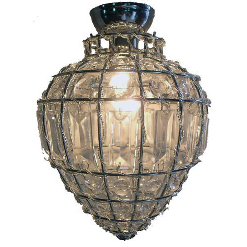Zander Lighting Atri Glass Batten Fix Ceiling Light