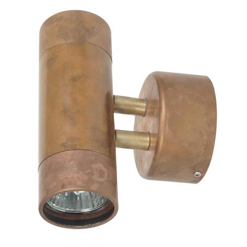 Zander Lighting Comma 2 Light Wall Sconces in Copper