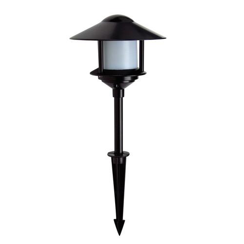 Oriel Lighting Shinto Garden Bollard Light in Black