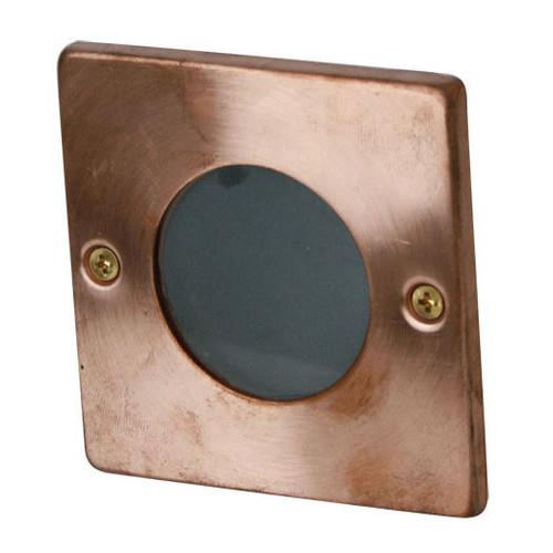 Zander Lighting Copper Corato Metal Step Light