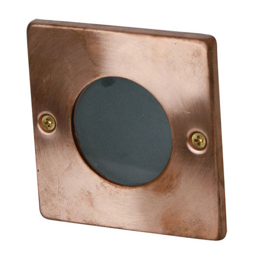 Oriel Lighting Rocco Square Recessed Light in Copper
