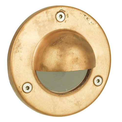 huge selection of f621c dde33 Rocco Hooded LV Exterior Recessed Light in Copper