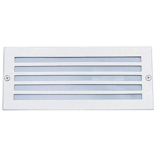 Oriel Lighting Exterior Louvred Bricklight 316 in Stainless Face