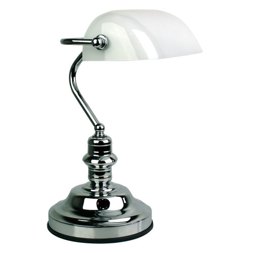Oriel Lighting Banker's Touch Lamp
