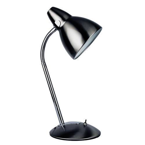 Zander Lighting Trax Desk Lamp in Brushed Chrome