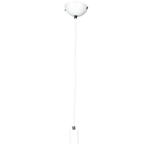 Zander Lighting White Canosa 1 Light Metal Pendant