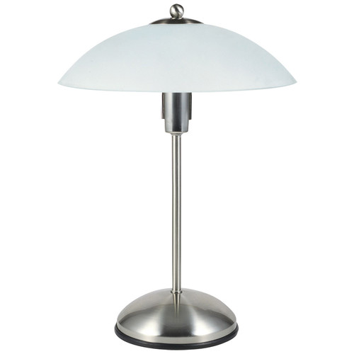 Zander Lighting Chrome Otranto Steel Table Lamp