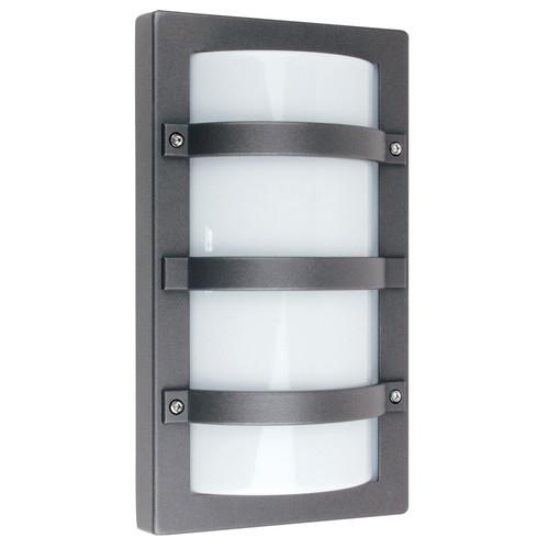 Oriel Lighting Trio Exterior Bulkhead Wall light