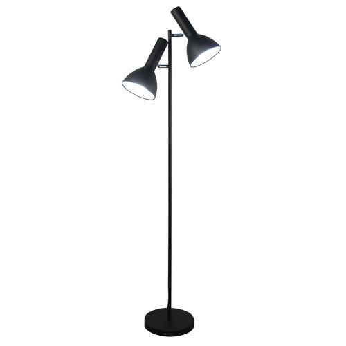 Zander Lighting Olbia Twin Metal Floor Lamp
