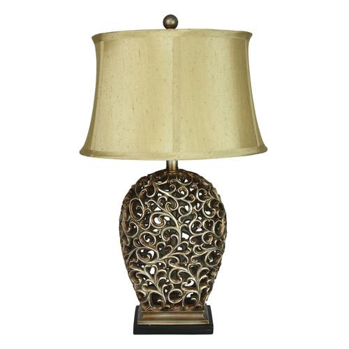 Zander Lighting Donati Complete Table Lamp
