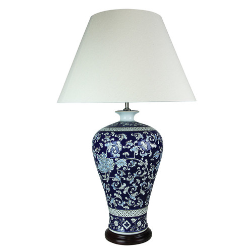 Yanmei chinese ceramic table lamp temple webster oriel lighting yanmei chinese ceramic table lamp aloadofball Choice Image