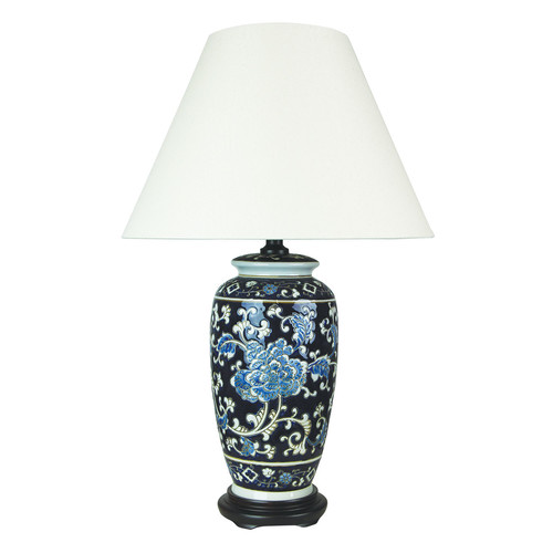 Yanyu chinese ceramic table lamp temple webster oriel lighting yanyu chinese ceramic table lamp aloadofball Image collections