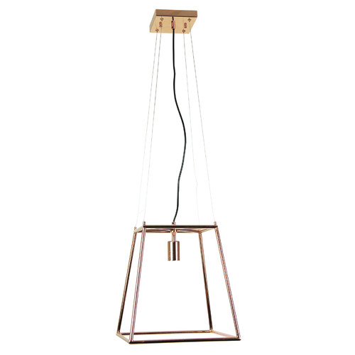 Zander Lighting Copper Massa Metal Pendant Light