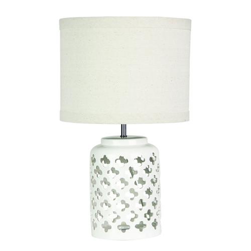 Zander Lighting Bolsena Moorish Ceramic Table Lamp