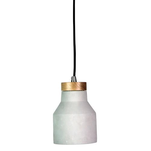 Zander Lighting Panto 15W Concrete Finish Pendant