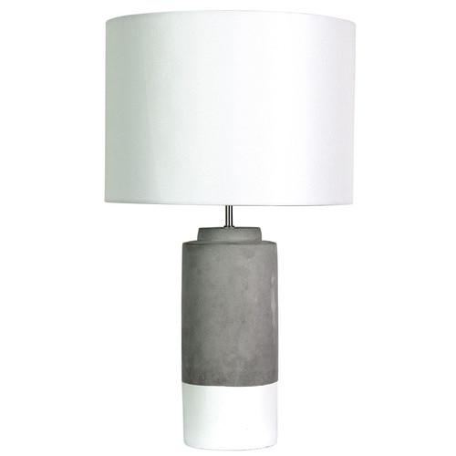 Zander Lighting Natural Pozzi Concrete Table Lamp