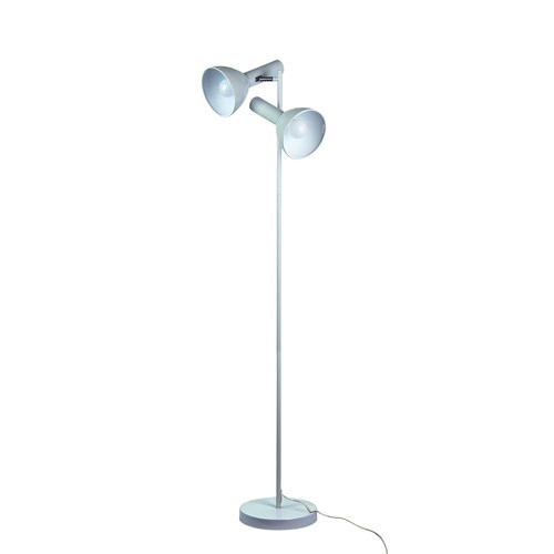 Zander Lighting Olbia Twin Metal Floor Lamp