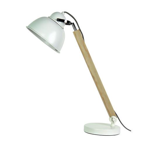 Zander Lighting Franca Metal & Wood Desk Lamp