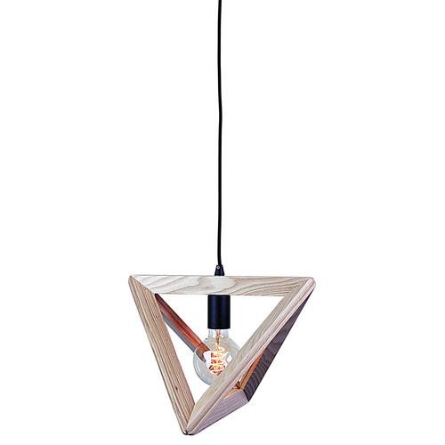 Oriel Lighting Trap Triangle Pendant Black Suspension