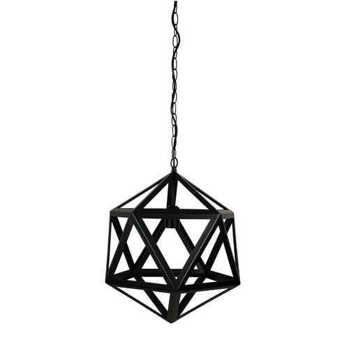 Oriel Lighting Geo Geometric Single Pendant Light
