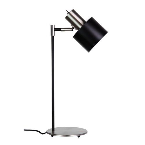 Zander Lighting Chrome Cosenza Steel Desk Lamp