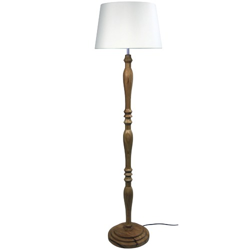 Natural Classic Timber Floor Lamps   Temple & Webster