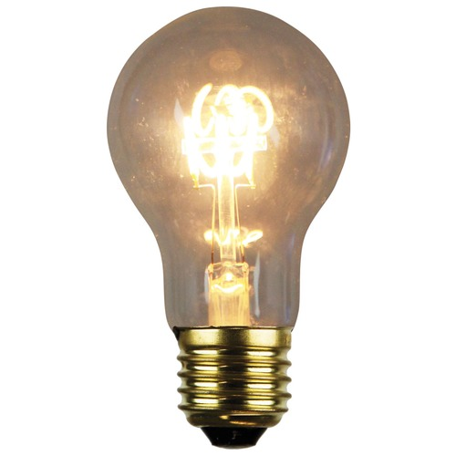 Oriel Lighting A60 E27 LED Spiral Filament Bulbs