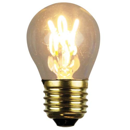 Oriel Lighting G45 E27 LED Spiral Filament Bulbs