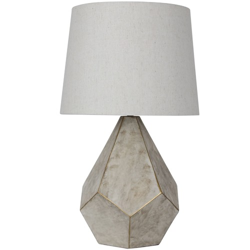 Oriel Lighting Leon Geometrical Table Lamp