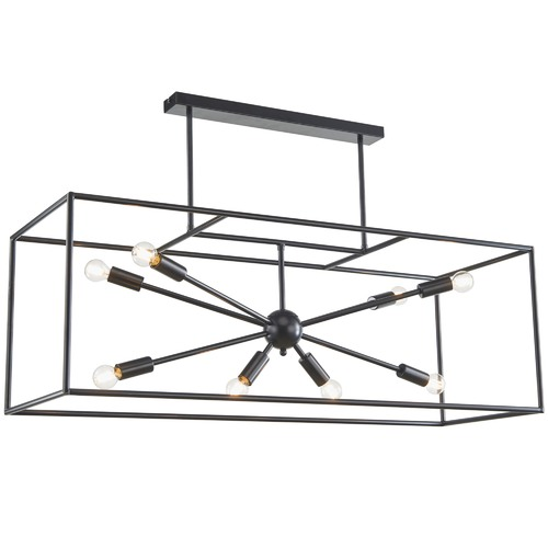 Zander Lighting Bolzano 8 Light Metal Pendant