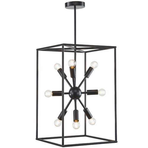 Oriel Lighting Georgetown Vertical Box Pendant Light