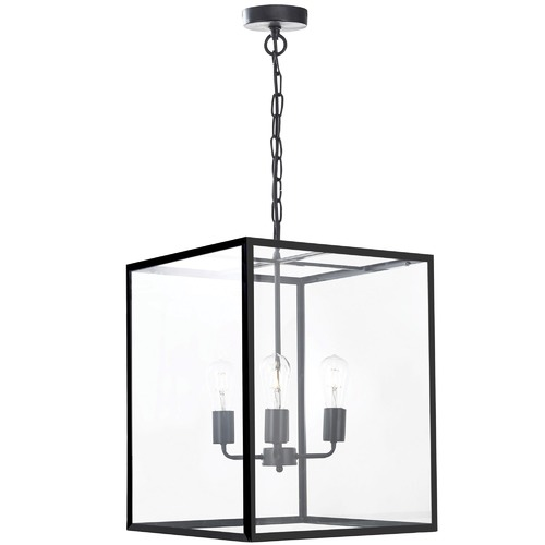 Oriel Lighting Classic Hampton Metal & Glass Pendant Light