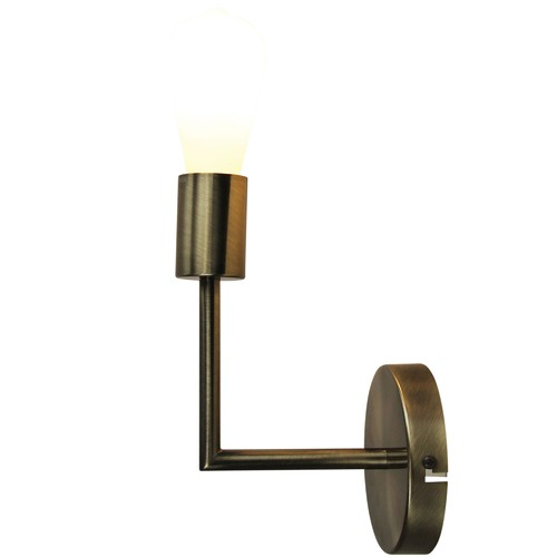 Oriel Lighting Antique Brass Chelsea Wall Light