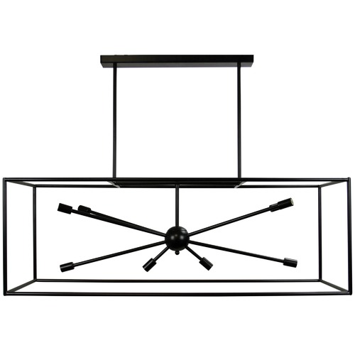 Oriel Lighting Georgetown Horizontal Box Pendant Light