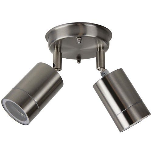 Oriel Lighting Zeta LED 2 Light Outdoor Spotlight