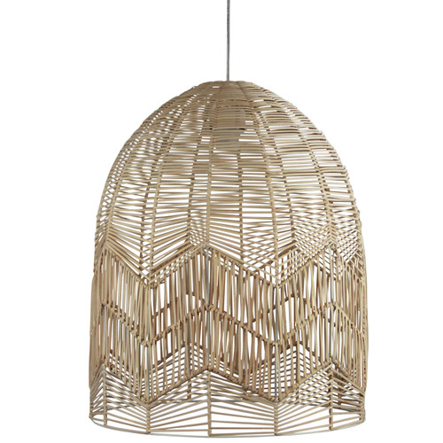 Zander Lighting Tanah Rattan Pendant Light