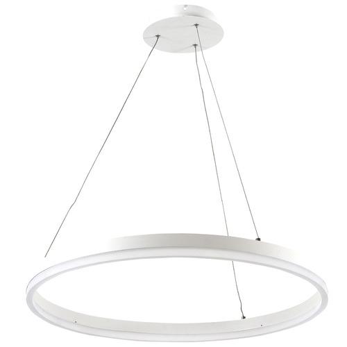Zander Lighting Bordighera LED Stainless Steel Pendant Light