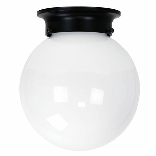 Zander Lighting Argenta Glass Batten Fix Ceiling Light