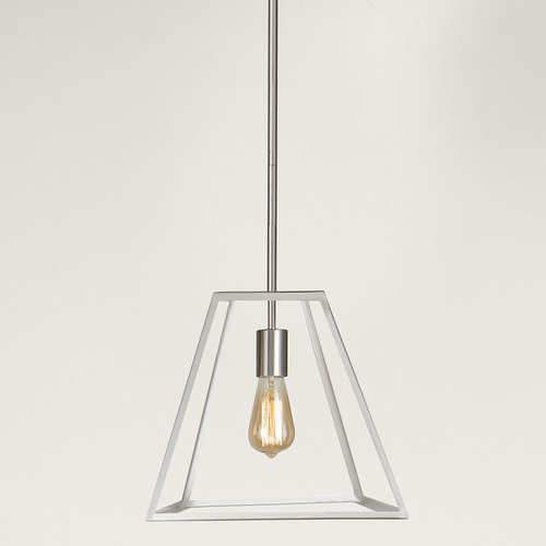 Reuten 1 Light Steel Pendant