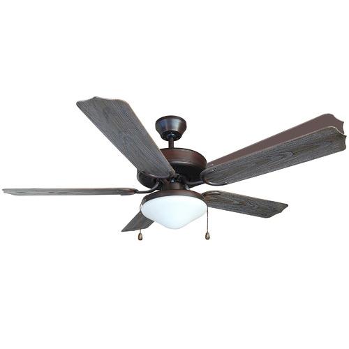 Heller 130cm Heller Outdoor Ceiling Fan with Light